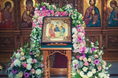 ПЯТИДЕСЯТНИЦА (День Святой Троицы). (Всенощное бдение. Литургия. Вечерня) (26-27 мая 2018 г.)